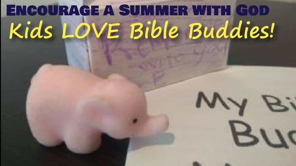 Encourage a Summer with God with Bible Buddy Pets (FREE DOWNLOAD)