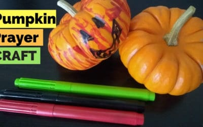 Easy Pumpkin Prayer Craft for Kids