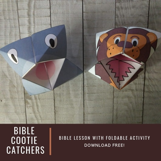 Crafty Thursday-Bible Cootie Catchers
