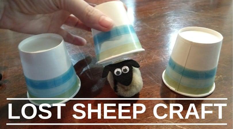 Crafty Thursday-Lost Sheep Craft
