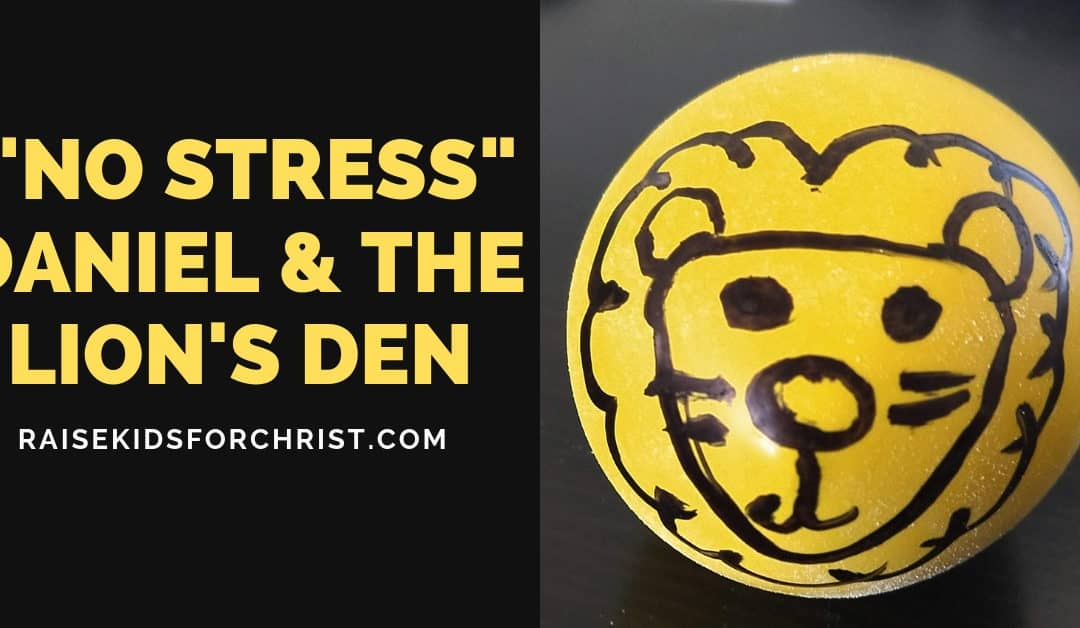 "Crafty Thursday – Lion's Den ""No Stress"" Stress Balls"