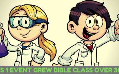 This One Event Grew Bible Class by Over 300%