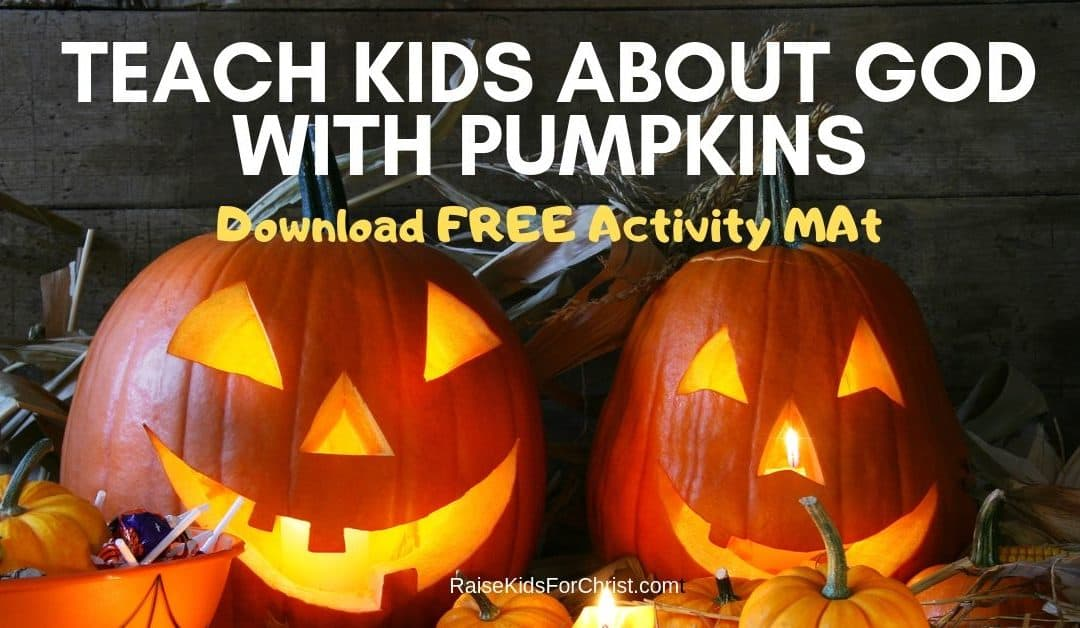 Teach About God With Jack-O-Lantern Activity Mats