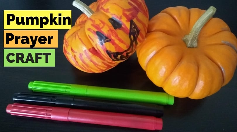 Easy Pumpkin Prayer Craft for Kids