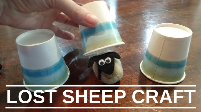 Crafty Thursday-Lost Sheep Craft