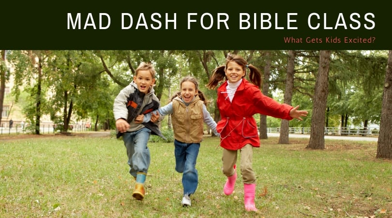 Mad Dash FOR Bible Class