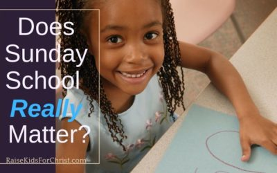Does Sunday School Really Matter?
