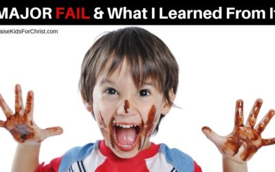 Major Fail & What I Learned From It