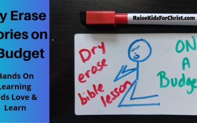 Dry Erase Stories On a Budget